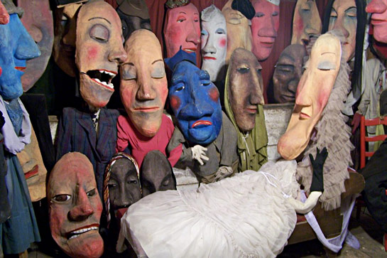 Bread and Puppet museum
