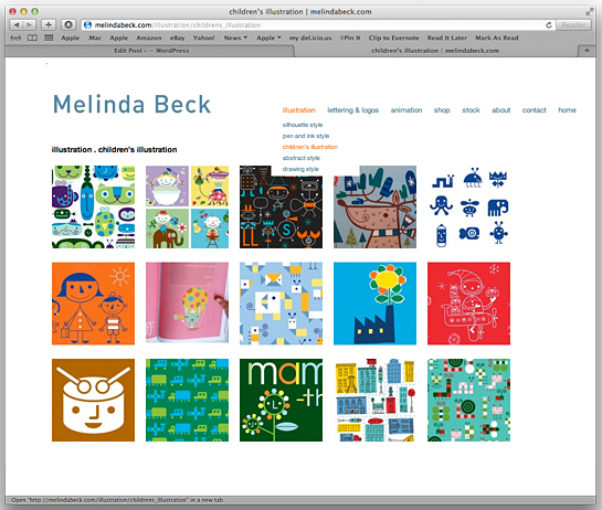 Melinda Beck Screenshot