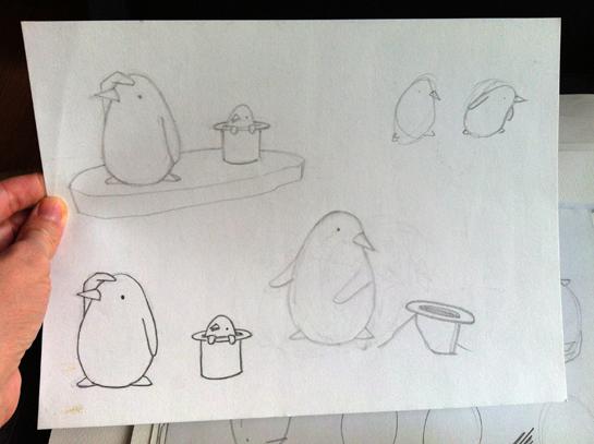 first sketch!