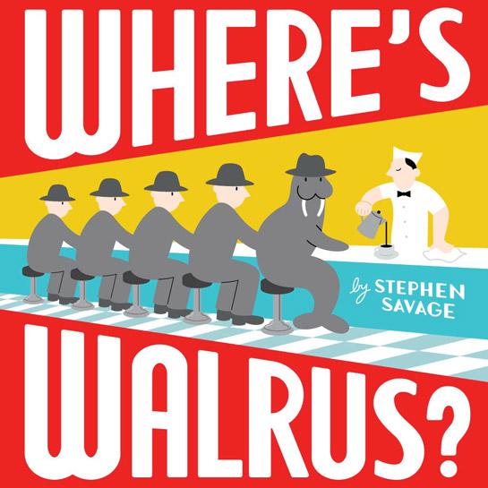 Where's Walrus? cover