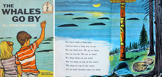 """Whales Go By, By Illustrated by """"I loved this book as a kid. Sooooooo much!"""""""