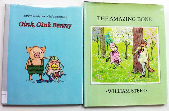 william-steig-amazing-bone-olof-landstrom-oink-oink-benny