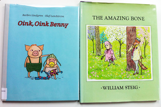 william-steig-amazing-bone-olof-landstrom-oink-oink-benny