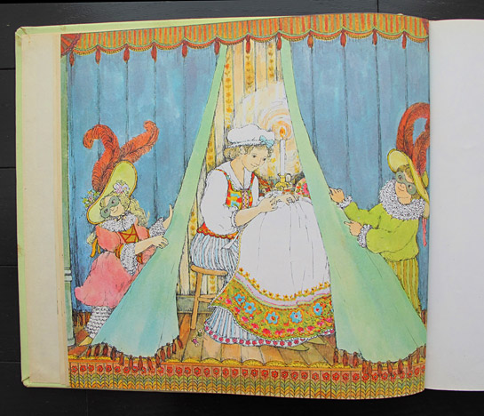 """""""Once in the city of Salzburg lived a poor girl Anna who loved to sew and embroider beautiful clothes."""""""
