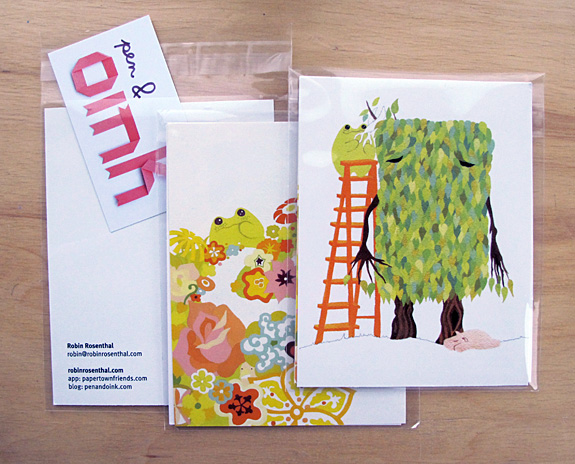 My promo postcards for scbwi. The postcards were printed by vistaprint.com and the business card by overnight prints.com