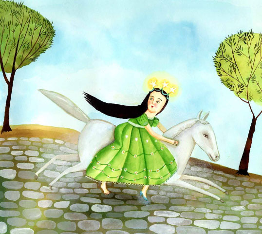 from The Orphan: A Cinderella Story from Greece by Anthony L. Manna and Soula Mitakidou