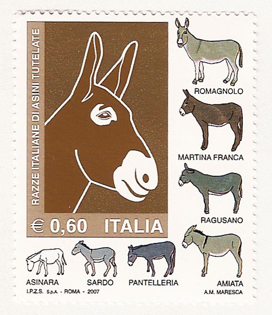 The only stamp in my stamp collection!
