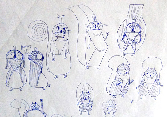 david-ezra-stein-early-squirrel-sketches-2