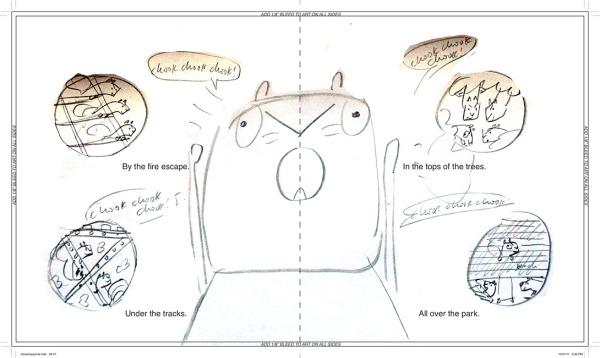 david-ezra-stein-original-ol-mama-squirrel-sketch-spread-1