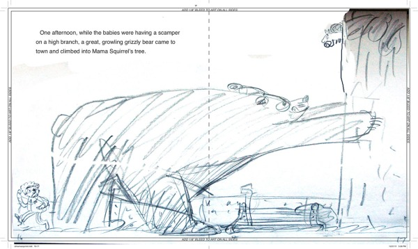 david-ezra-stein-original-ol-mama-squirrel-sketch-spread-5