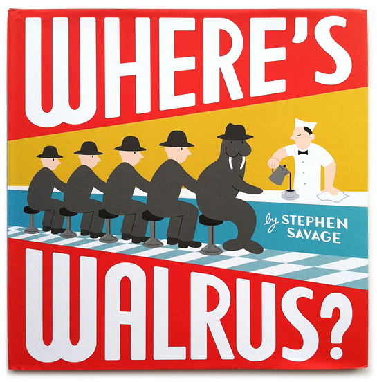 Where's Walrus by Stephen Savage