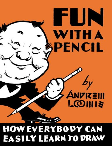 "Cover from Fun With a Pencil. Brett Helquist says ""If you buy one book on drawing, buy this."""