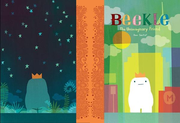 The case design for Beekle by Dan Santat
