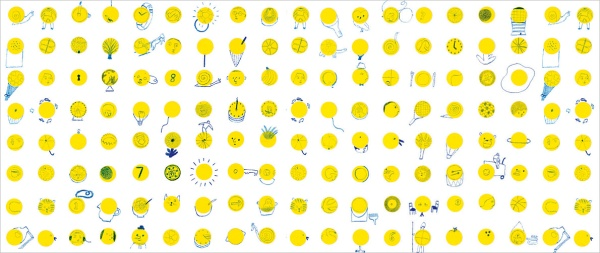 Endpapers for A World of YOur Own by Laura Carlin. (Click to enlarge.)