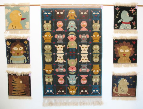 Sara Varon's Turkish carpet