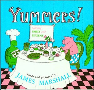 Cover for Yummers by James Marshall.