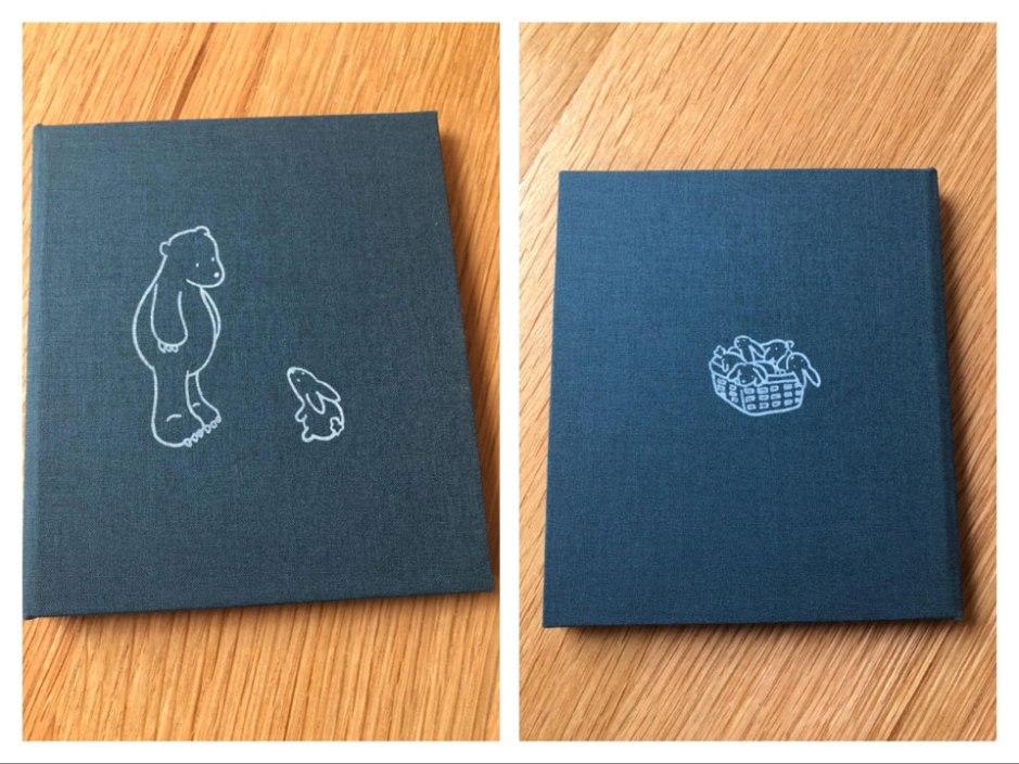 Muddy Bunnies silkscreen book